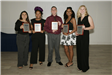 Outstanding Youth Hailey Guzman, Jakhia Lifhred, Christian Galentine, Sinclaire Dupree and Sophia