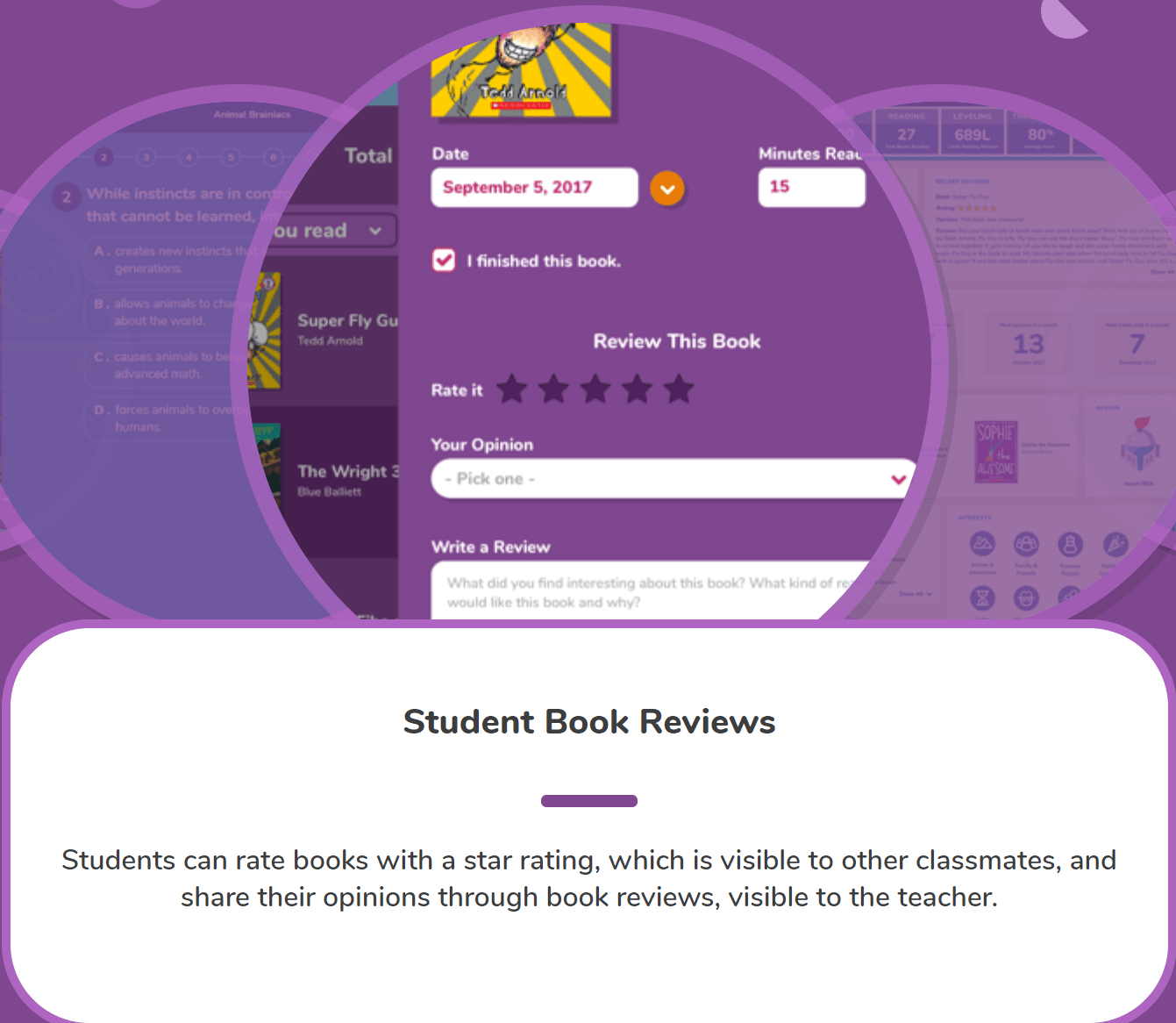 Scholastic Literacy LitPro FEATURES _Student Book Reviews (2)